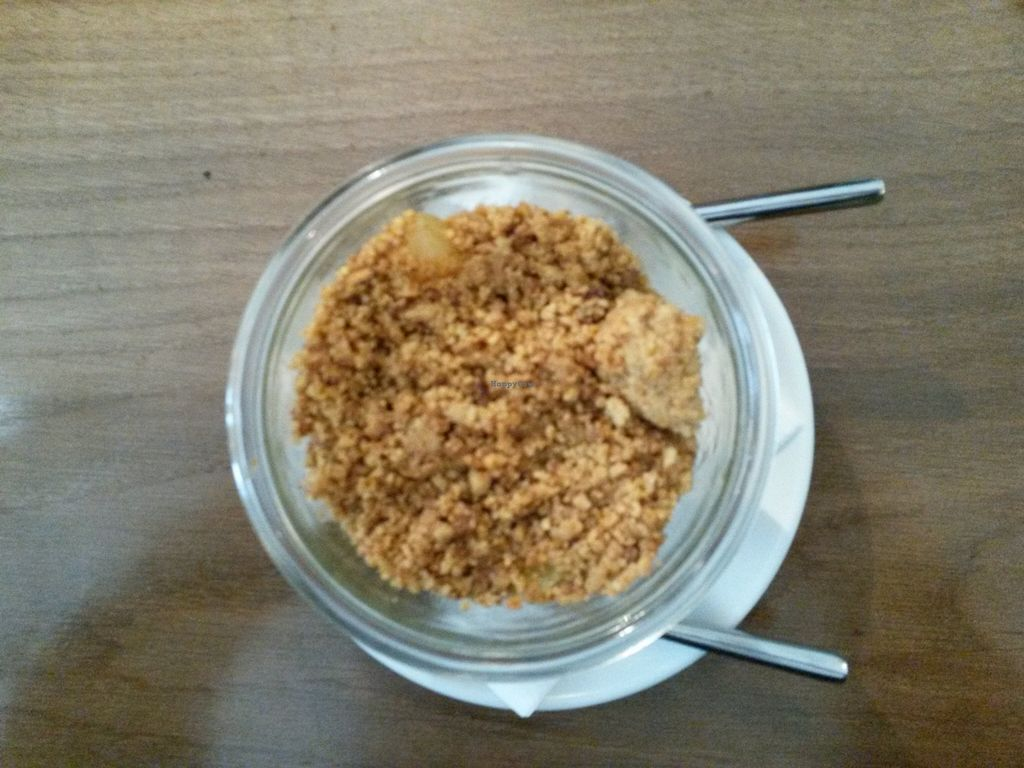 "Photo of Cafe Pinson - Poissonniere  by <a href=""/members/profile/thenaturalfusions"">thenaturalfusions</a> <br/>Vegan dessert from Cafe Pinson
