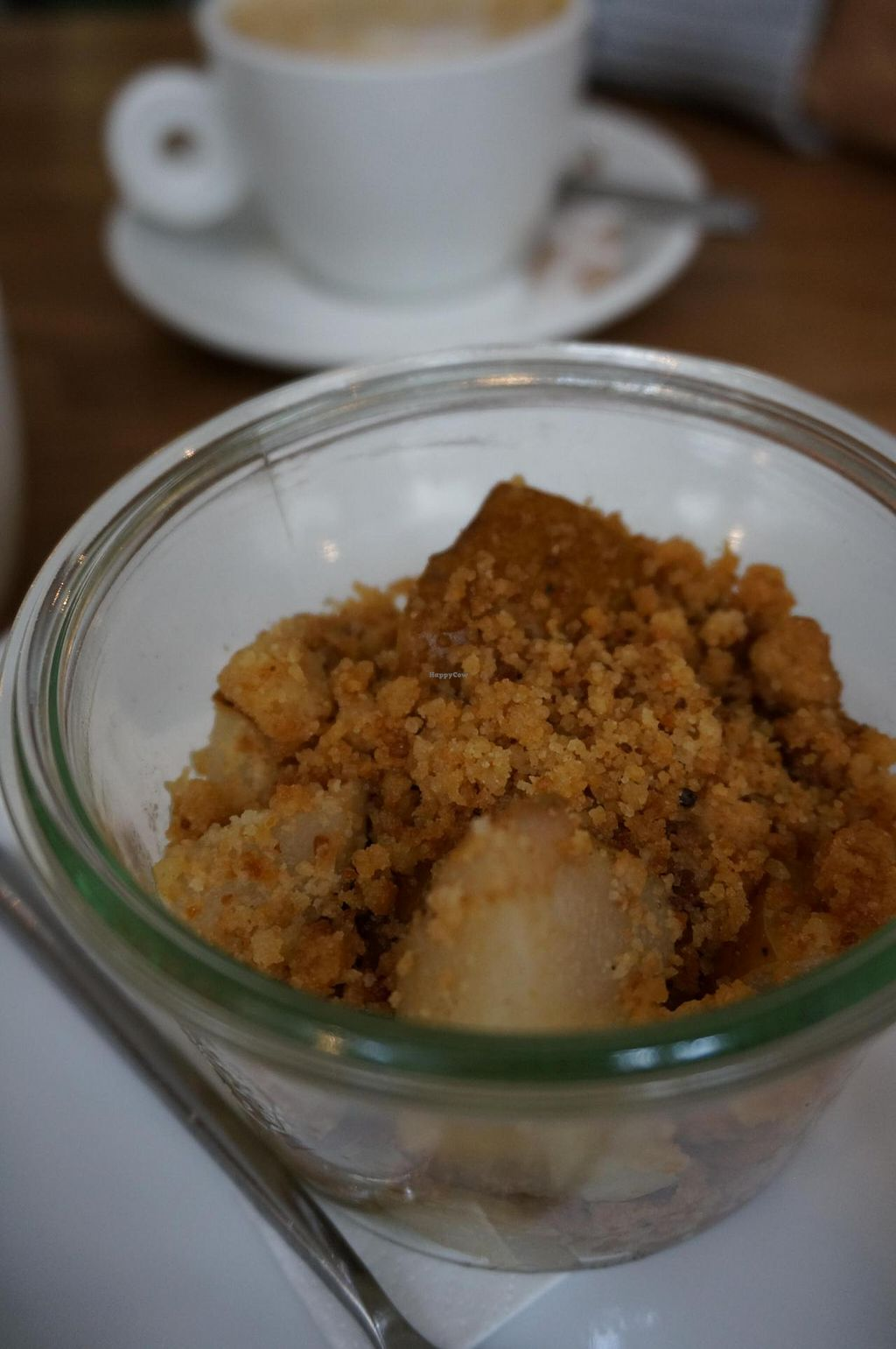 "Photo of Cafe Pinson - Poissonniere  by <a href=""/members/profile/Ricardo"">Ricardo</a> <br/>Apple Crumble (Vegan) <br/> November 11, 2014  - <a href='/contact/abuse/image/44737/85198'>Report</a>"