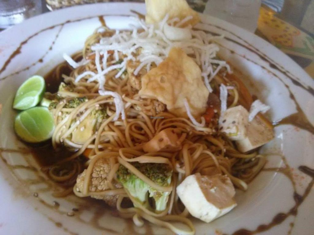 """Photo of Tiki Limbo  by <a href=""""/members/profile/gstuessy"""">gstuessy</a> <br/>'Pad Thai' at Tiki Limbo. Not exactly like regular Pad Thai, but not bad either <br/> February 1, 2014  - <a href='/contact/abuse/image/44764/63540'>Report</a>"""