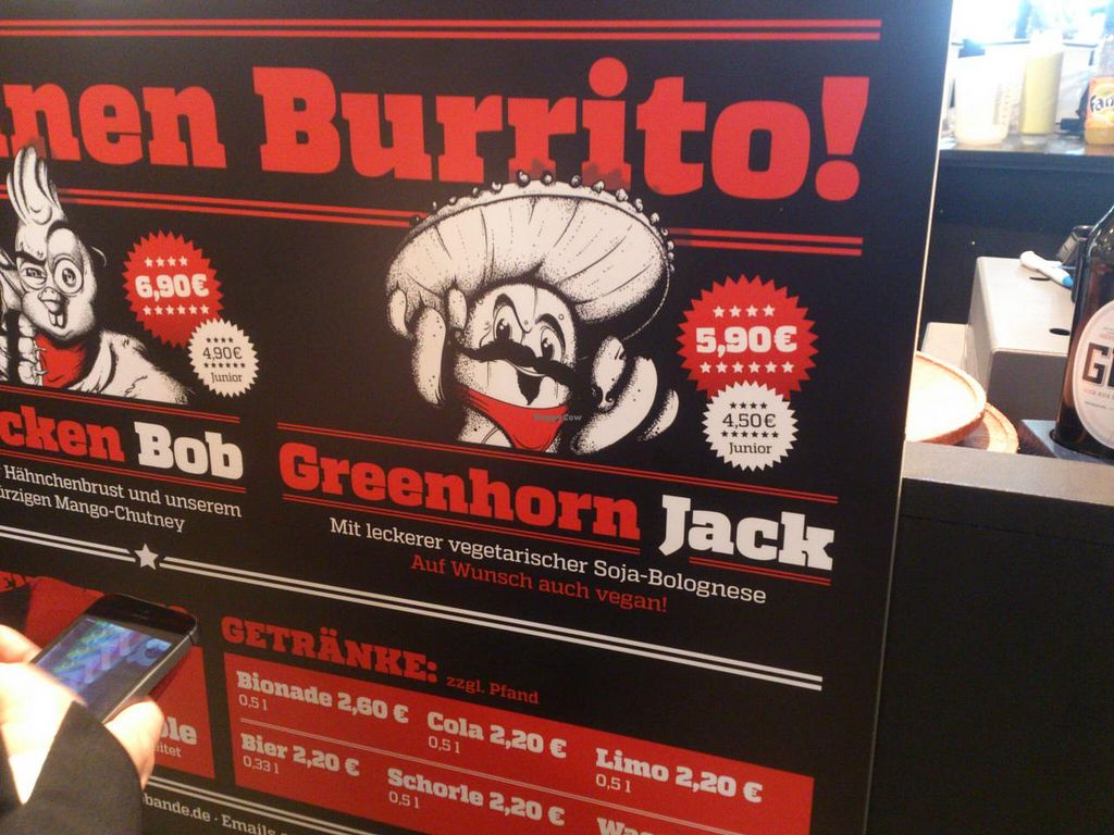 """Photo of Burrito Bande Food Truck  by <a href=""""/members/profile/Tank242"""">Tank242</a> <br/>the perfect grab'n'go meal-vegan labelling <br/> June 8, 2015  - <a href='/contact/abuse/image/44765/105111'>Report</a>"""