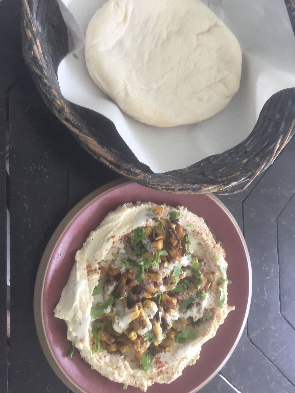 """Photo of Green Gallery  by <a href=""""/members/profile/Pons"""">Pons</a> <br/>Hummus + shawarma <br/> February 25, 2018  - <a href='/contact/abuse/image/44811/363545'>Report</a>"""