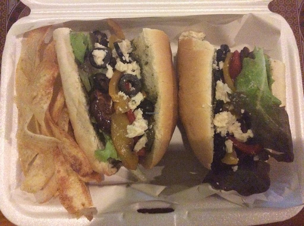 """Photo of Green Gallery  by <a href=""""/members/profile/Pons"""">Pons</a> <br/>Very nice greek sandwich!  <br/> March 7, 2018  - <a href='/contact/abuse/image/44811/367734'>Report</a>"""