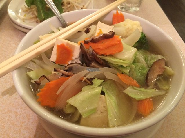"Photo of Red Curry Vegan Kitchen  by <a href=""/members/profile/Siup"">Siup</a> <br/>Saigon soup <br/> September 21, 2016  - <a href='/contact/abuse/image/44825/177063'>Report</a>"