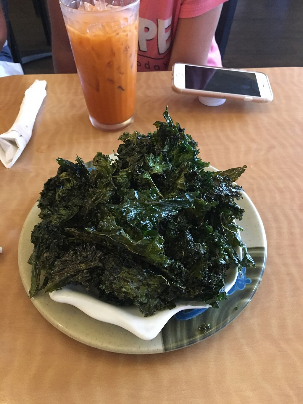 "Photo of Red Curry Vegan Kitchen  by <a href=""/members/profile/Jenny20124"">Jenny20124</a> <br/>kale chips <br/> August 12, 2017  - <a href='/contact/abuse/image/44825/291780'>Report</a>"