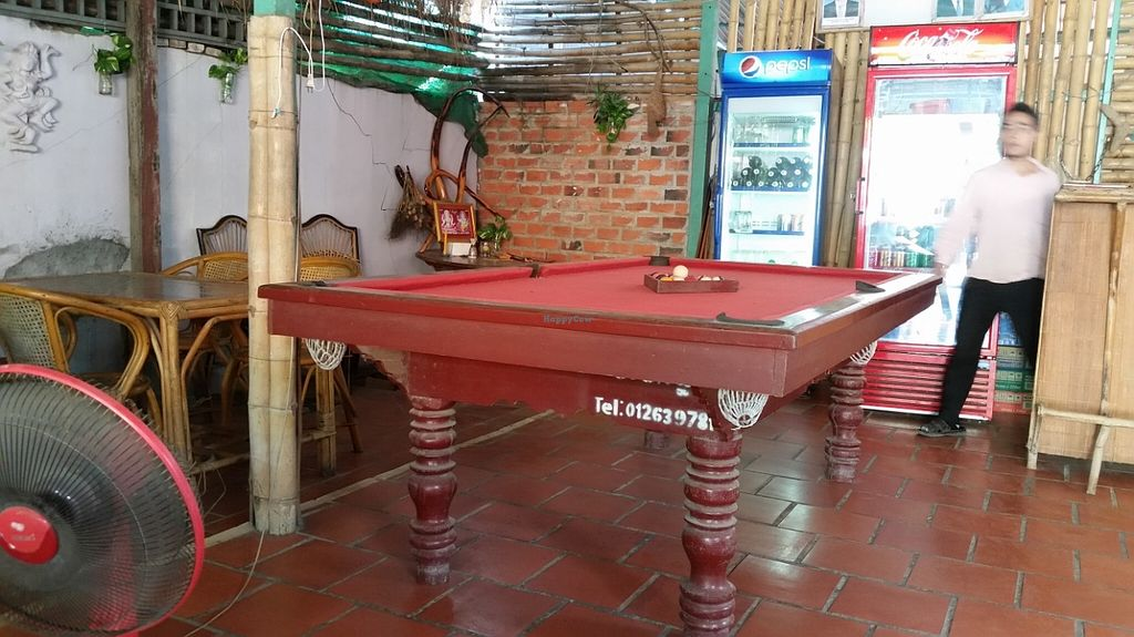 "Photo of My Country - My Food  by <a href=""/members/profile/rugger4evr"">rugger4evr</a> <br/>Photo of the inside of the cafe, showing specifically the pool table <br/> November 20, 2015  - <a href='/contact/abuse/image/44831/125666'>Report</a>"