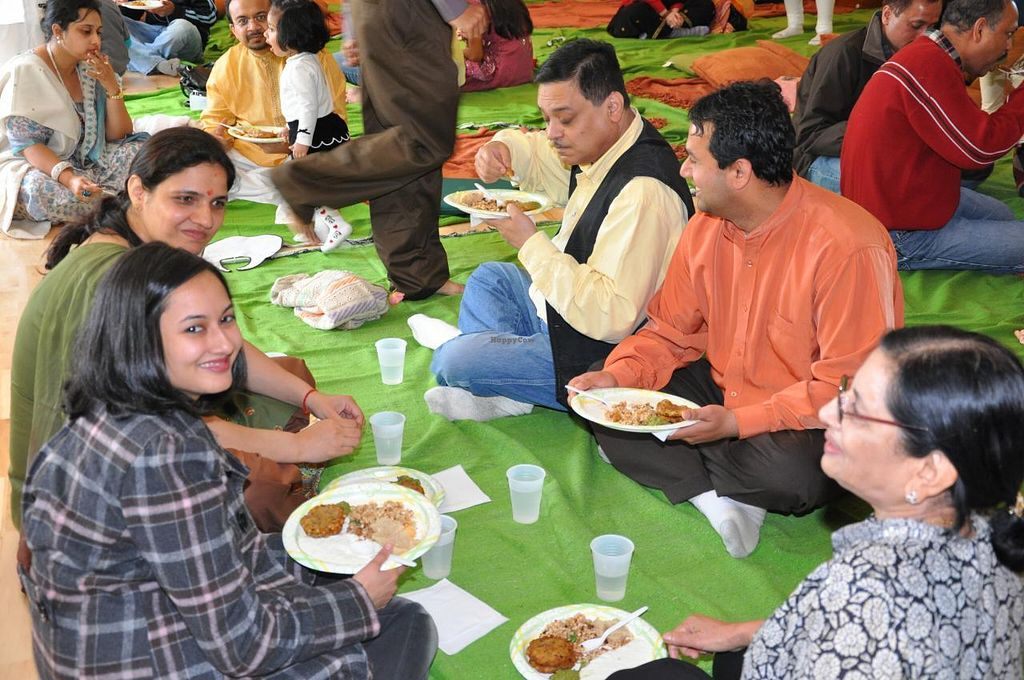 """Photo of Sri Radhe Bhakti  by <a href=""""/members/profile/LaurenC"""">LaurenC</a> <br/>Free dinner at Braj Mandir in Holbrook, MA <br/> February 1, 2014  - <a href='/contact/abuse/image/44839/63528'>Report</a>"""