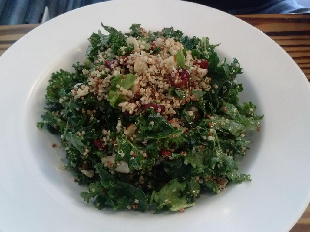 """Photo of Grain Lab  by <a href=""""/members/profile/Sonja%20and%20Dirk"""">Sonja and Dirk</a> <br/>kale quinoa salad <br/> January 22, 2014  - <a href='/contact/abuse/image/44841/62950'>Report</a>"""