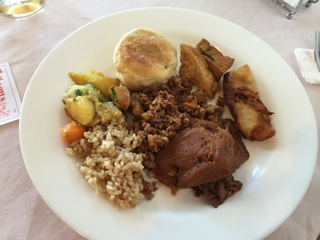 """Photo of Lotus Restaurante Vegetariano  by <a href=""""/members/profile/Paolla"""">Paolla</a> <br/>Some of the vegan options <br/> January 7, 2016  - <a href='/contact/abuse/image/44859/131420'>Report</a>"""