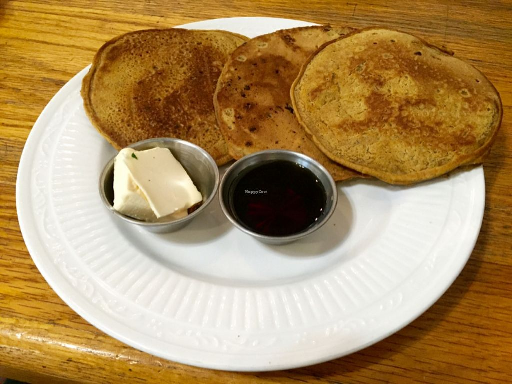 """Photo of The Sentient Bean  by <a href=""""/members/profile/clovely.vegan"""">clovely.vegan</a> <br/>pumpkin spice pancakes.  <br/> November 1, 2015  - <a href='/contact/abuse/image/4486/123411'>Report</a>"""