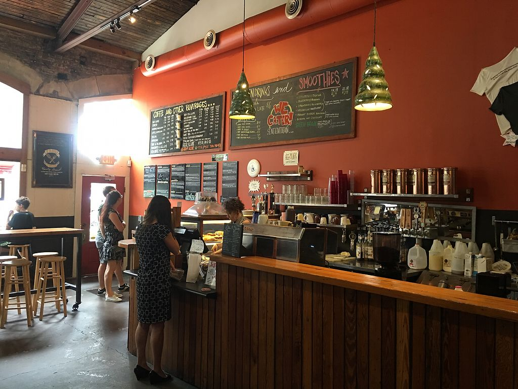 """Photo of The Sentient Bean  by <a href=""""/members/profile/paniam"""">paniam</a> <br/>a good food and drink menu <br/> July 25, 2017  - <a href='/contact/abuse/image/4486/284683'>Report</a>"""
