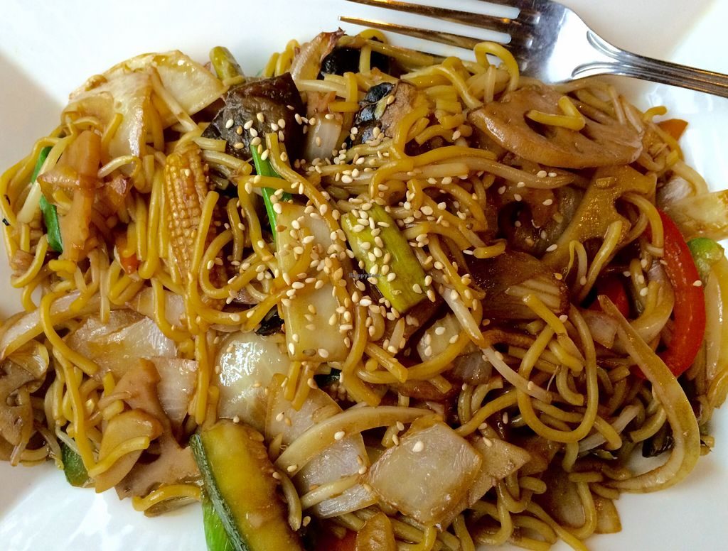 """Photo of Sakura Japanese Restaurant  by <a href=""""/members/profile/CiaraSlevin"""">CiaraSlevin</a> <br/>Vegetable noodles  <br/> August 15, 2015  - <a href='/contact/abuse/image/44872/113718'>Report</a>"""