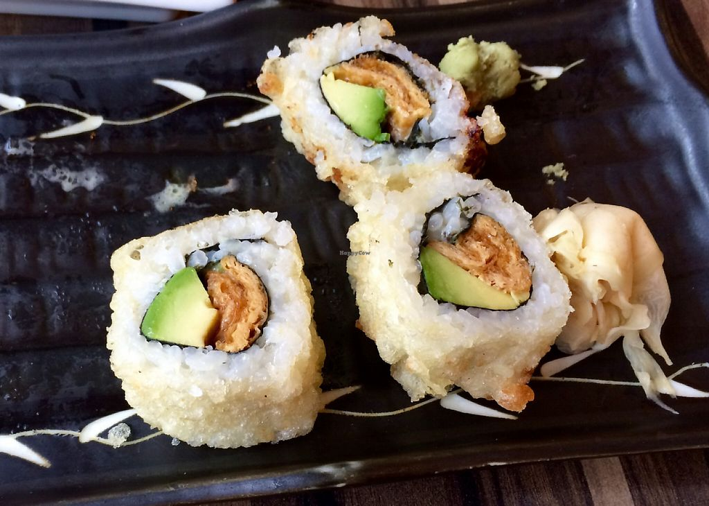"""Photo of Sakura Japanese Restaurant  by <a href=""""/members/profile/CiaraSlevin"""">CiaraSlevin</a> <br/>Avocado and tofu starter <br/> August 15, 2015  - <a href='/contact/abuse/image/44872/239780'>Report</a>"""