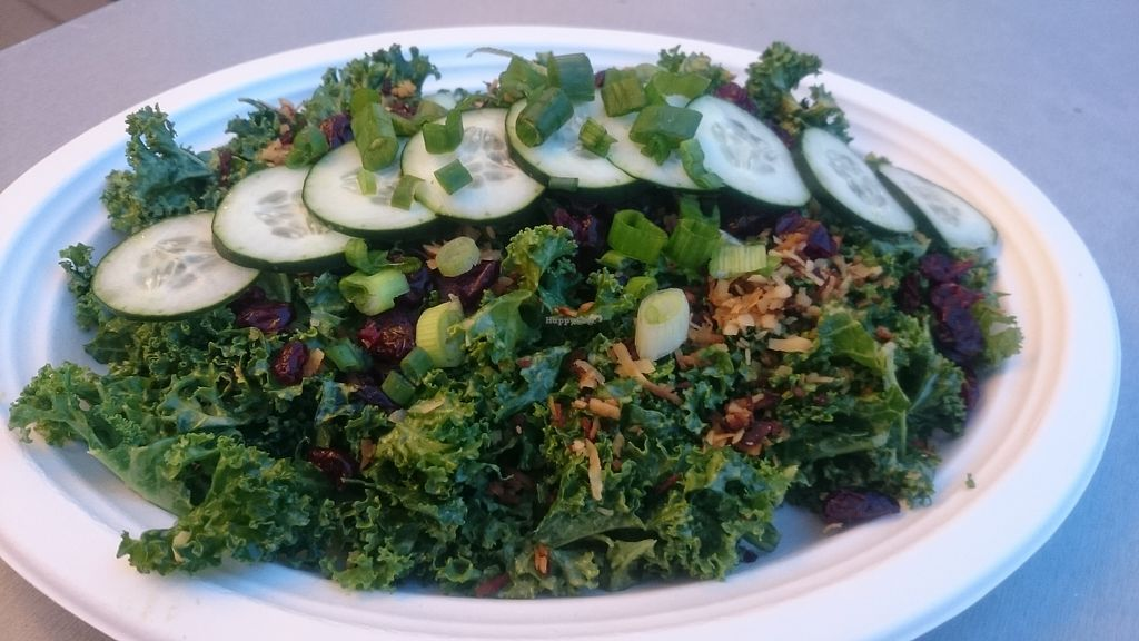 """Photo of Simply Pure  by <a href=""""/members/profile/chb-pbfp"""">chb-pbfp</a> <br/>coconut kale salad (full order) <br/> April 11, 2018  - <a href='/contact/abuse/image/44876/383634'>Report</a>"""