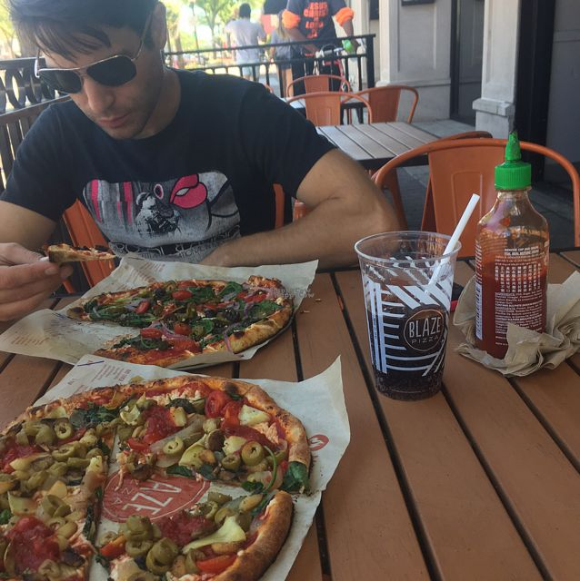 """Photo of Blaze Pizza  by <a href=""""/members/profile/Mariarosekicks"""">Mariarosekicks</a> <br/>patio <br/> September 2, 2016  - <a href='/contact/abuse/image/44896/173141'>Report</a>"""