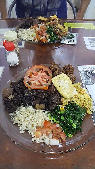 "Photo of Lar Vegetariano Vegan  by <a href=""/members/profile/sarahssoares"">sarahssoares</a> <br/>Feijoada vegan <br/> September 14, 2017  - <a href='/contact/abuse/image/44899/304487'>Report</a>"