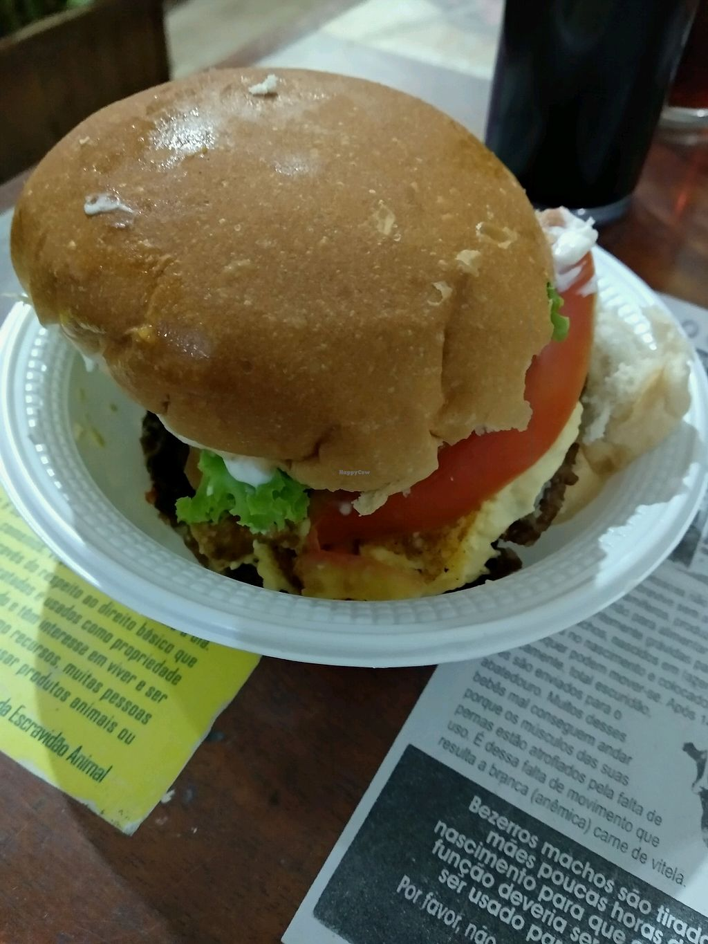 "Photo of Lar Vegetariano Vegan  by <a href=""/members/profile/maltman23"">maltman23</a> <br/>One of several yummy Brazilian fast-food items served on the all-you-can-eat menu at Lar Vegetariano Vegan <br/> February 3, 2018  - <a href='/contact/abuse/image/44899/354411'>Report</a>"
