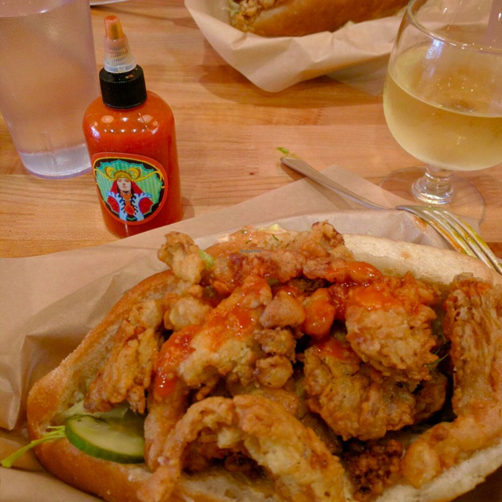 """Photo of Mother  by <a href=""""/members/profile/Jon%20G."""">Jon G.</a> <br/>Chicken Fried Po-Boys! Oh boy!!! <br/> June 25, 2016  - <a href='/contact/abuse/image/44903/155967'>Report</a>"""