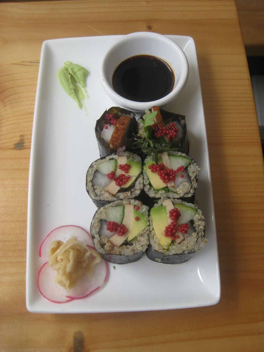 "Photo of CLOSED: Wildebeest  by <a href=""/members/profile/jennyc32"">jennyc32</a> <br/>Quinoa, smoked tofu and avocado sushi <br/> July 28, 2015  - <a href='/contact/abuse/image/44906/111304'>Report</a>"