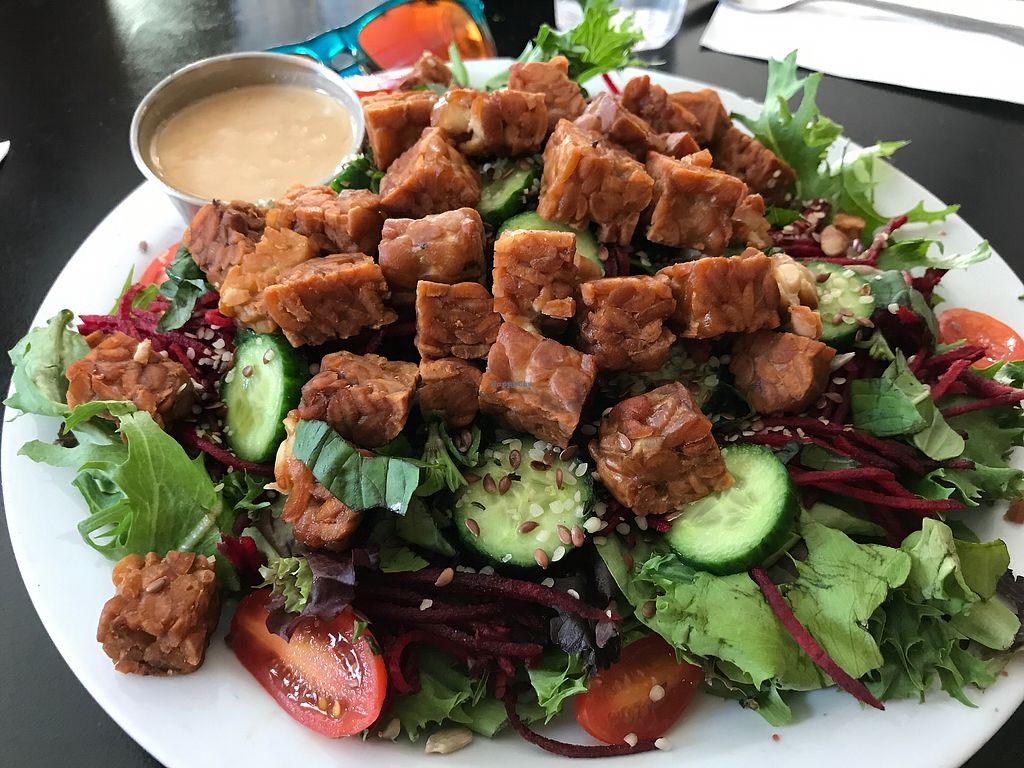 "Photo of Ahimsa Vegan Cafe  by <a href=""/members/profile/FatTonyBMX"">FatTonyBMX</a> <br/>Rainbow Salad  <br/> August 12, 2017  - <a href='/contact/abuse/image/44909/291828'>Report</a>"