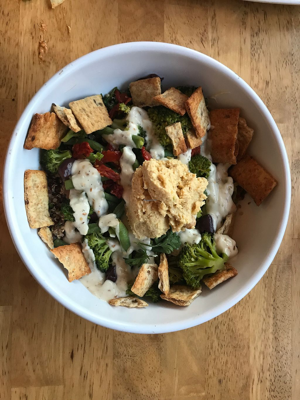 "Photo of Ahimsa Vegan Cafe  by <a href=""/members/profile/Bex2017"">Bex2017</a> <br/>Mediterranean Bowl  <br/> October 1, 2017  - <a href='/contact/abuse/image/44909/310611'>Report</a>"
