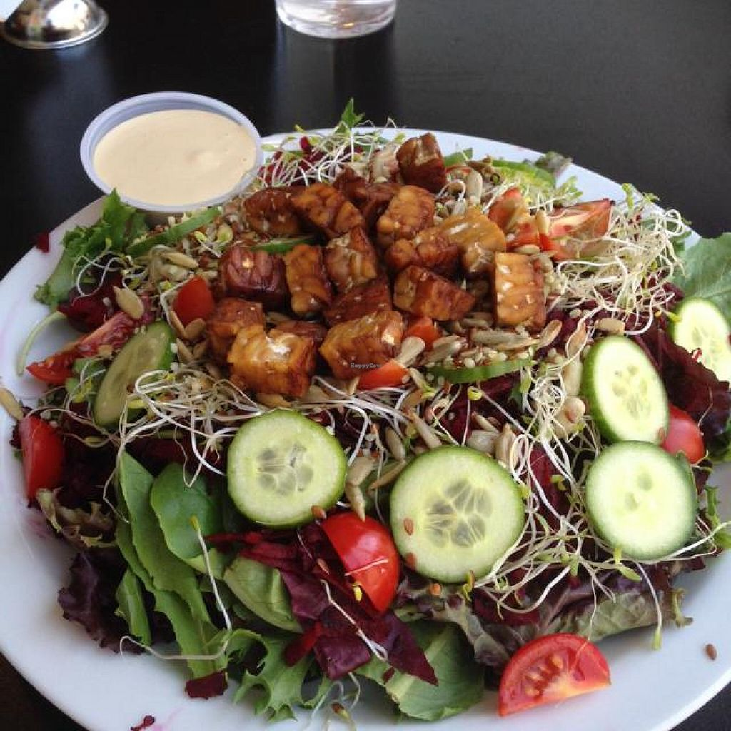 "Photo of Ahimsa Vegan Cafe  by <a href=""/members/profile/Labylala"">Labylala</a> <br/>hippy salad <br/> July 5, 2014  - <a href='/contact/abuse/image/44909/73282'>Report</a>"