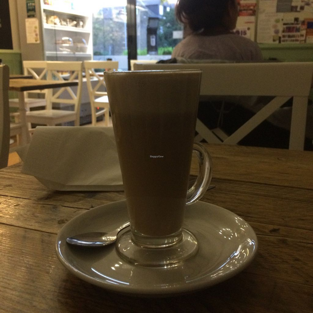 Photo of Lu-Ma Cafe  by Mayra_Vivo <br/>Vegan hazelnut chai <br/> October 27, 2015  - <a href='/contact/abuse/image/44914/122880'>Report</a>