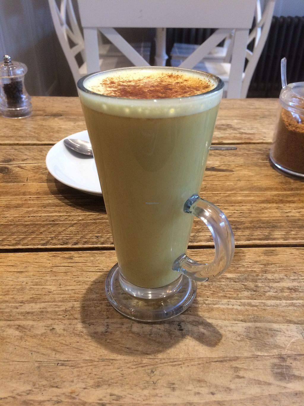 "Photo of Lu-Ma Cafe  by <a href=""/members/profile/TreeBrown"">TreeBrown</a> <br/>Turmeric latte  <br/> October 24, 2017  - <a href='/contact/abuse/image/44914/318361'>Report</a>"