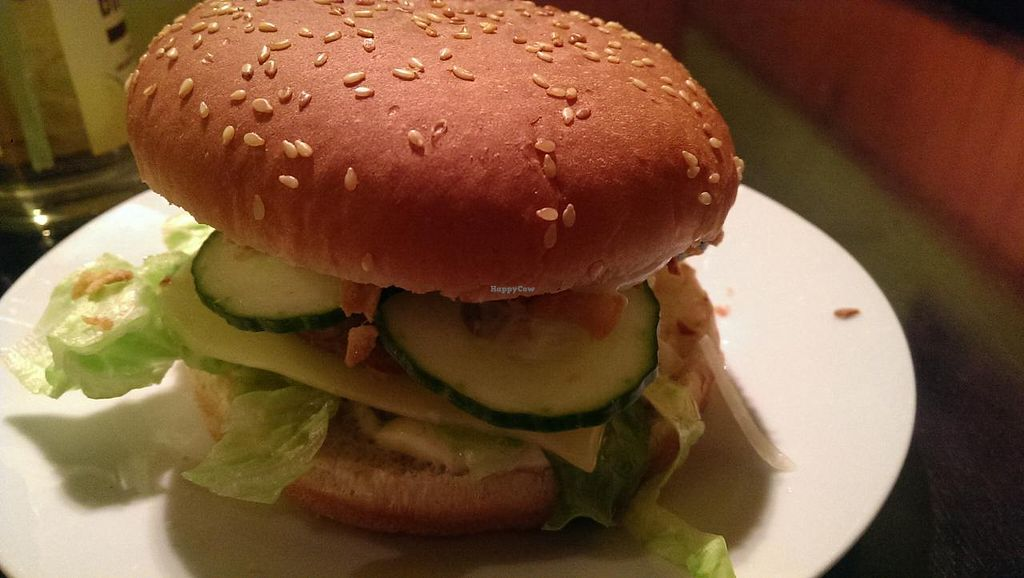 """Photo of CLOSED: Befried  by <a href=""""/members/profile/Tajarim"""">Tajarim</a> <br/>black bean burger. best!  <br/> January 16, 2015  - <a href='/contact/abuse/image/44916/90491'>Report</a>"""