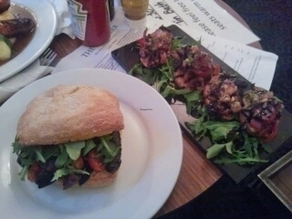 """Photo of Red Deer  by <a href=""""/members/profile/Meaks"""">Meaks</a> <br/>Vegan breakfast bun and roasted vegetable bruschetta <br/> July 29, 2016  - <a href='/contact/abuse/image/44950/163172'>Report</a>"""