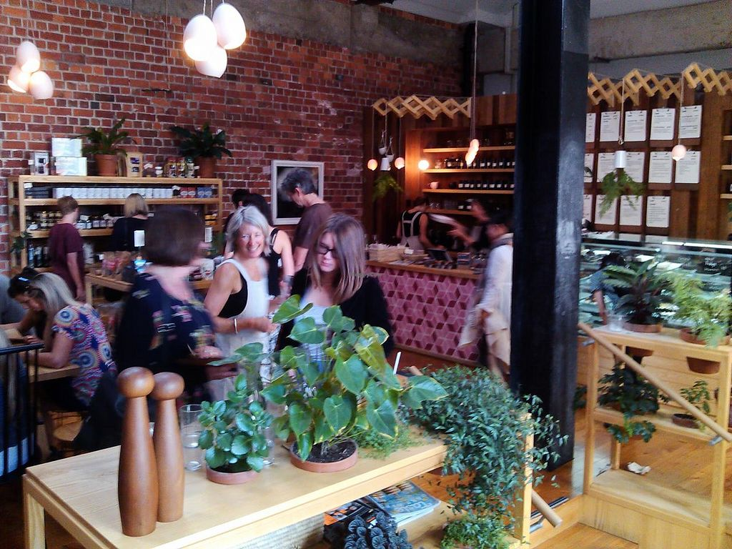 """Photo of Little Bird Organics - Ponsonby  by <a href=""""/members/profile/RayTomes"""">RayTomes</a> <br/>Very popular lunch time restaurant. Caters to eating at tables or take away. Moderately priced for near city <br/> April 21, 2014  - <a href='/contact/abuse/image/44981/68246'>Report</a>"""