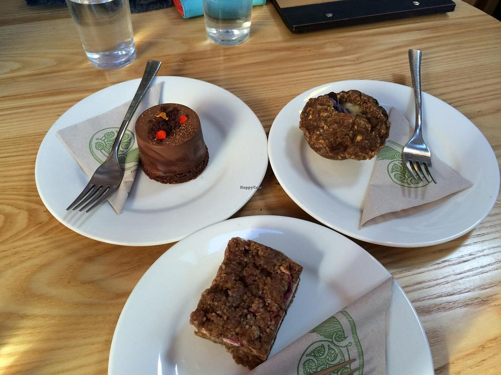 """Photo of Little Bird Organics - Ponsonby  by <a href=""""/members/profile/Plantpower"""">Plantpower</a> <br/>3 different sweet treats <br/> October 18, 2014  - <a href='/contact/abuse/image/44981/83306'>Report</a>"""
