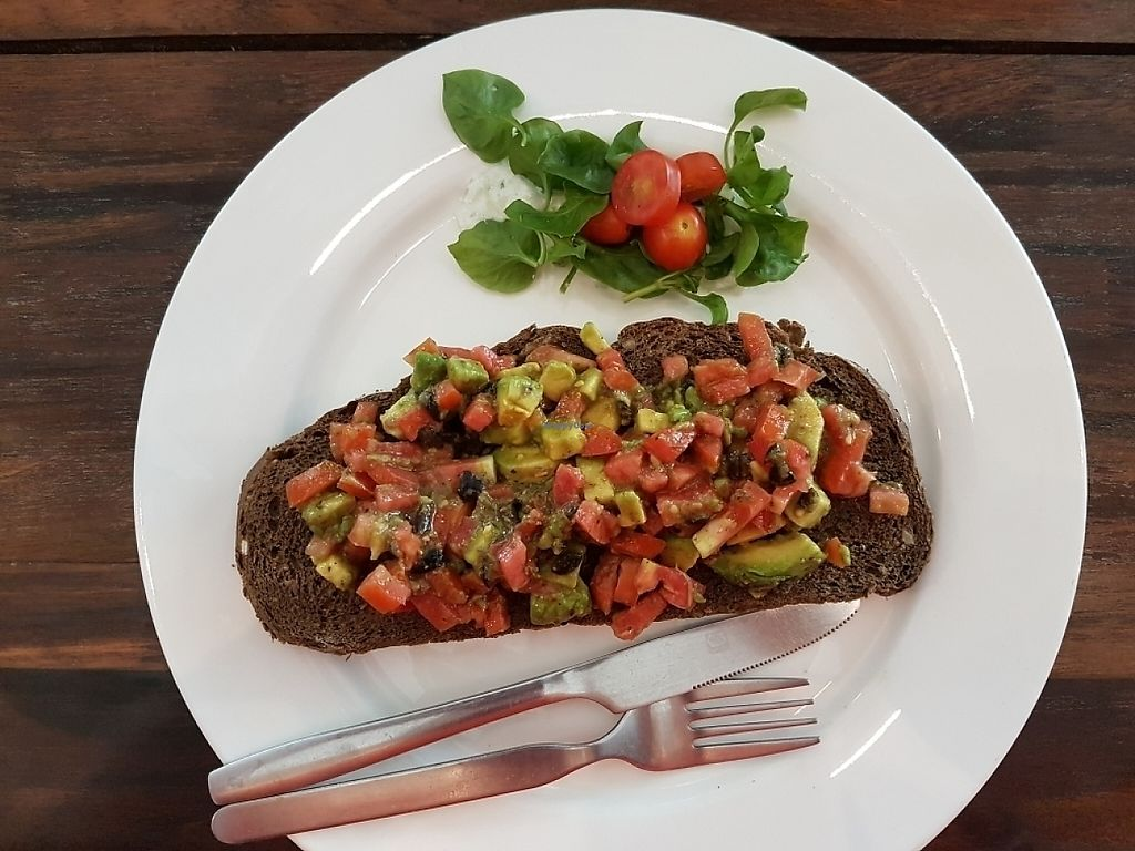 "Photo of May and Mark Restaurant  by <a href=""/members/profile/JenniferTheresa"">JenniferTheresa</a> <br/>Avocado/Tomato/ Olive open face sandwich.  <br/> June 3, 2017  - <a href='/contact/abuse/image/45000/265225'>Report</a>"