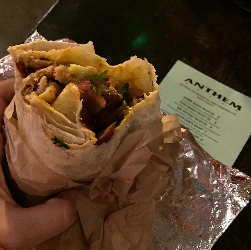 "Photo of Anthem Vegan  by <a href=""/members/profile/veganinsandiego"">veganinsandiego</a> <br/>Secret menu item: Mother of all Burritos <br/> March 11, 2017  - <a href='/contact/abuse/image/45033/235076'>Report</a>"