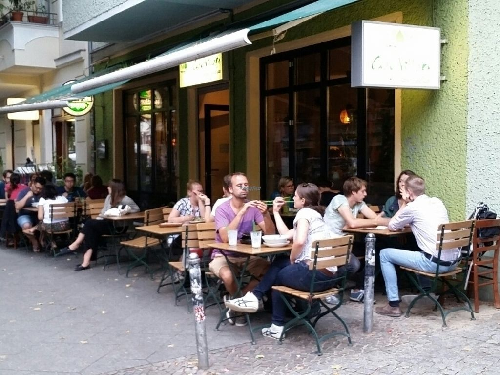"""Photo of Chay Village - Friedrichshain  by <a href=""""/members/profile/eric"""">eric</a> <br/>outside seating <br/> August 22, 2016  - <a href='/contact/abuse/image/45036/170748'>Report</a>"""