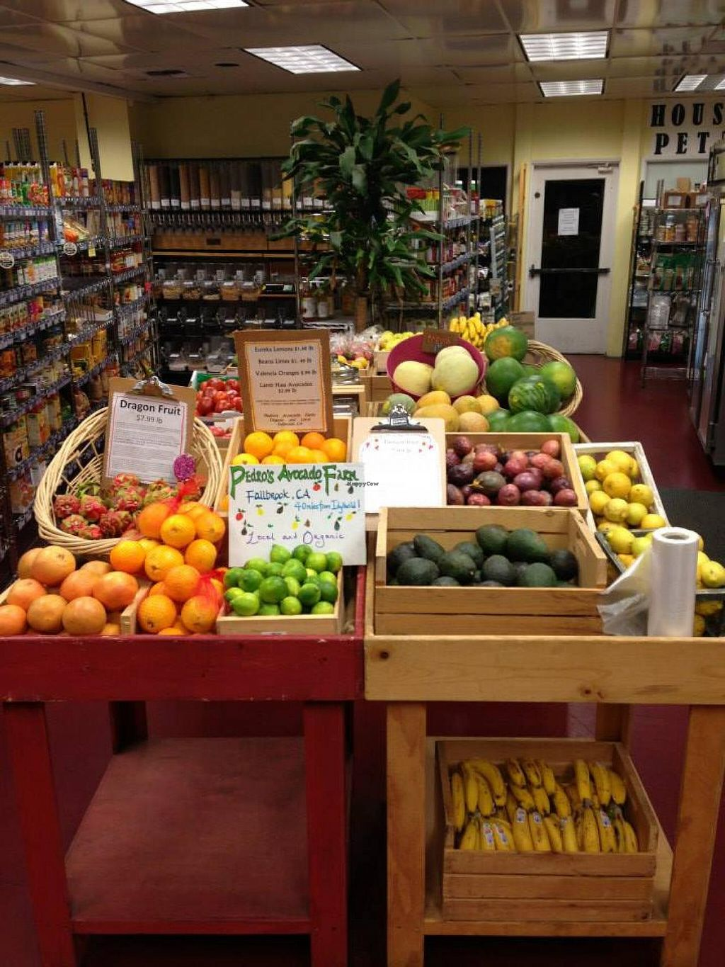 """Photo of CLOSED: Sky Island Natural Foods  by <a href=""""/members/profile/Sky%20Island"""">Sky Island</a> <br/>Organic, locally grown produce available year round <br/> February 3, 2014  - <a href='/contact/abuse/image/45116/63682'>Report</a>"""