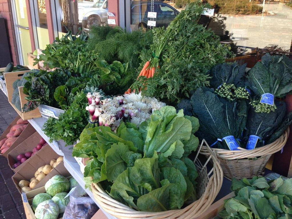 """Photo of CLOSED: Sky Island Natural Foods  by <a href=""""/members/profile/Sky%20Island"""">Sky Island</a> <br/>Fresh picked winter greens at our Saturday farmers market <br/> February 4, 2014  - <a href='/contact/abuse/image/45116/63720'>Report</a>"""