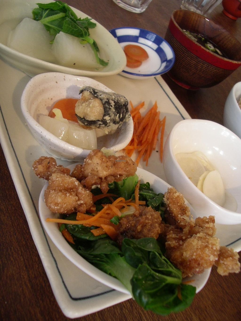 """Photo of CLOSED: Aburaage  by <a href=""""/members/profile/Ricardo"""">Ricardo</a> <br/>Lunch plate 980yen <br/> February 10, 2014  - <a href='/contact/abuse/image/45117/64063'>Report</a>"""