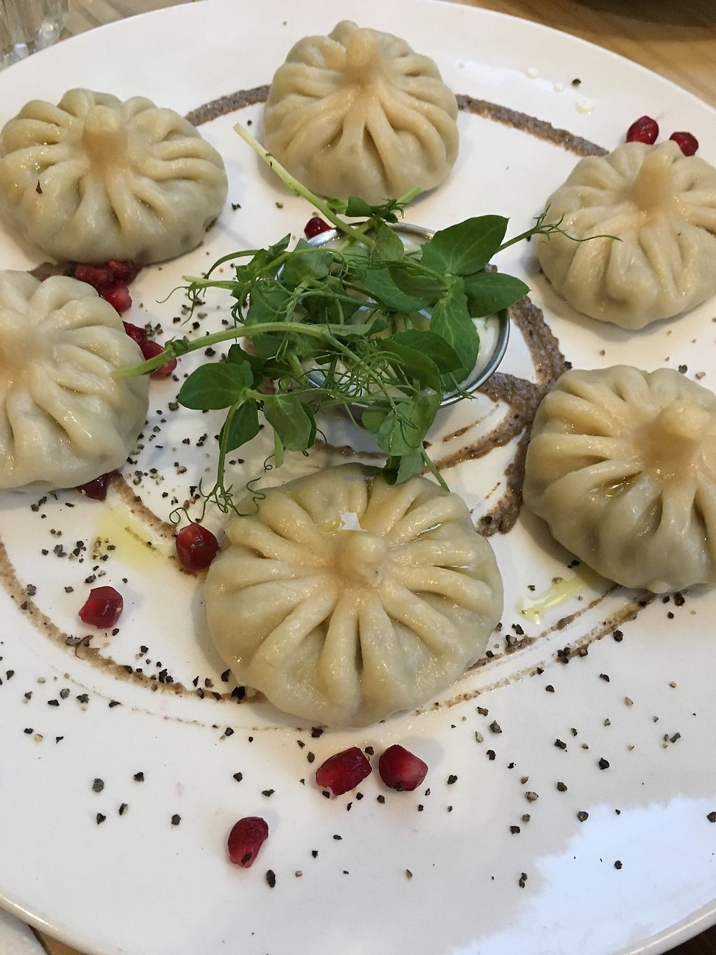 "Photo of Nanuchka  by <a href=""/members/profile/Laurenn"">Laurenn</a> <br/>Mushroom Dumplings  <br/> February 2, 2018  - <a href='/contact/abuse/image/45119/354080'>Report</a>"