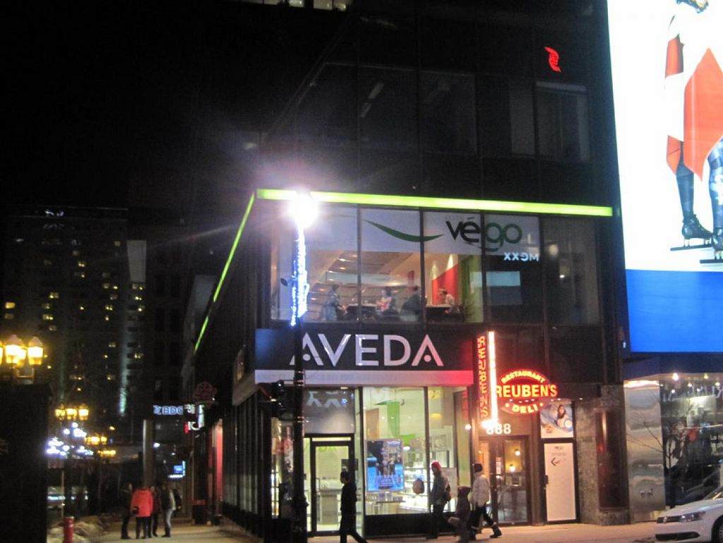 """Photo of CLOSED: Resto Vego - McGill College  by <a href=""""/members/profile/Babette"""">Babette</a> <br/>From outside <br/> January 21, 2015  - <a href='/contact/abuse/image/45132/90962'>Report</a>"""
