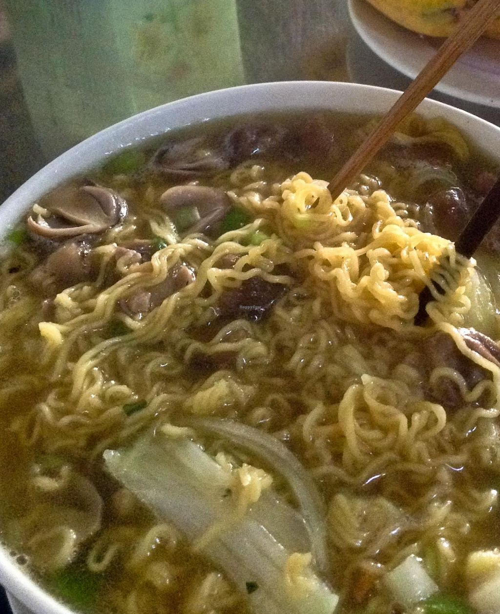 """Photo of Quan Chay Huong Sen  by <a href=""""/members/profile/Ranks42"""">Ranks42</a> <br/>Mushroom Noodle Soup <br/> February 10, 2014  - <a href='/contact/abuse/image/45137/64155'>Report</a>"""