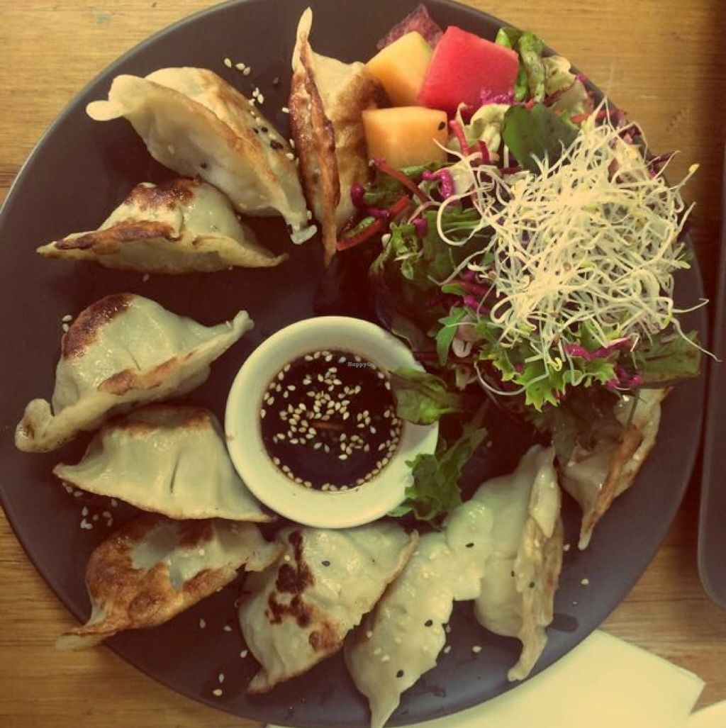 """Photo of CLOSED: Bliss Organic Garden Cafe  by <a href=""""/members/profile/kvanpraet"""">kvanpraet</a> <br/>Dumplings ❤️ <br/> December 18, 2015  - <a href='/contact/abuse/image/4516/128976'>Report</a>"""