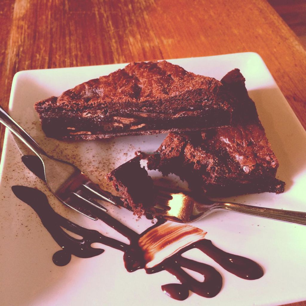 """Photo of CLOSED: Bliss Organic Garden Cafe  by <a href=""""/members/profile/Adro84"""">Adro84</a> <br/>Choc Fudge Brownie <br/> December 13, 2014  - <a href='/contact/abuse/image/4516/87910'>Report</a>"""