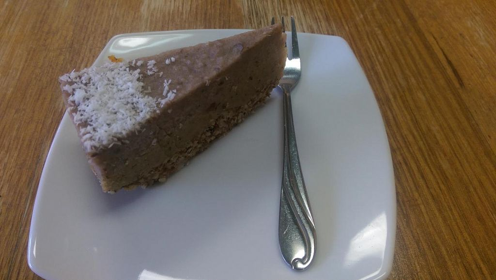 """Photo of CLOSED: Bliss Organic Garden Cafe  by <a href=""""/members/profile/big_saz"""">big_saz</a> <br/>Raw strawberry cheesecake - yummy! <br/> March 31, 2015  - <a href='/contact/abuse/image/4516/97439'>Report</a>"""