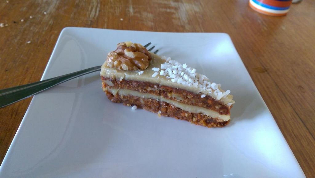 """Photo of CLOSED: Bliss Organic Garden Cafe  by <a href=""""/members/profile/big_saz"""">big_saz</a> <br/>Delicious carrot cake <br/> March 31, 2015  - <a href='/contact/abuse/image/4516/97442'>Report</a>"""