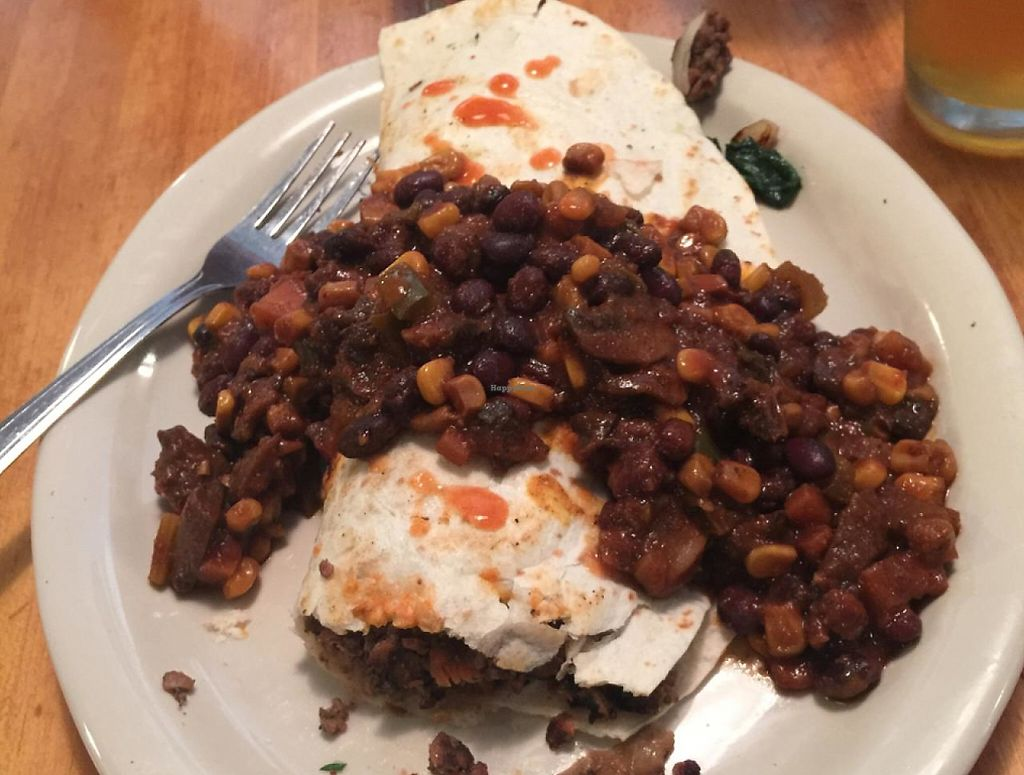 """Photo of Main Street Bistro  by <a href=""""/members/profile/MelanieLennie"""">MelanieLennie</a> <br/>rhino roll burrito <br/> May 10, 2015  - <a href='/contact/abuse/image/4517/209905'>Report</a>"""