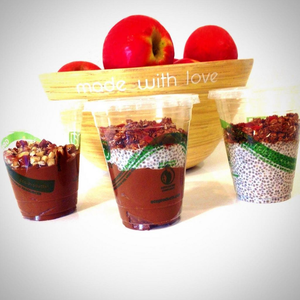 "Photo of Healthy Being Juicery  by <a href=""/members/profile/amirab"">amirab</a> <br/>Chia puddings are high in omega-3 fatty acids that boost mental clarity, endurance, and reduce inflammation. Rotating flavors include vanilla, chai, and chocolate mousse <br/> June 26, 2014  - <a href='/contact/abuse/image/45200/72826'>Report</a>"