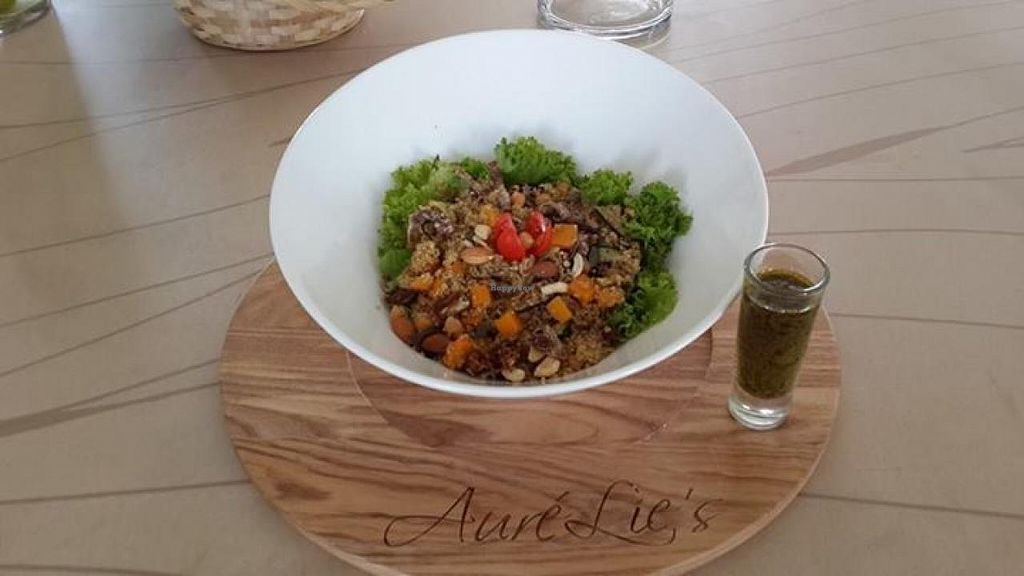 "Photo of Aurelie's Health and Lifestyle Cafe  by <a href=""/members/profile/community"">community</a> <br/>Seeds Salad <br/> March 5, 2014  - <a href='/contact/abuse/image/45242/65360'>Report</a>"