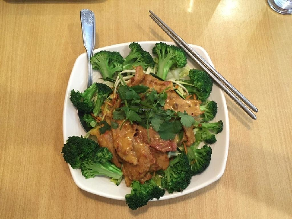 """Photo of Blossom Vegan Restaurant  by <a href=""""/members/profile/Chris%20Olinger"""">Chris Olinger</a> <br/>Curry Chiken <br/> April 22, 2015  - <a href='/contact/abuse/image/45256/174427'>Report</a>"""