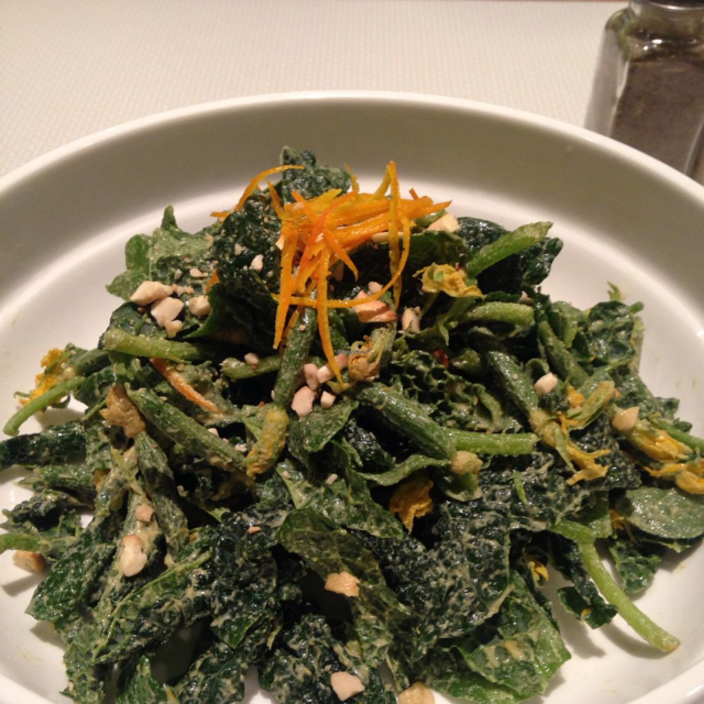 """Photo of Pure and Whole - Shanghai Centre  by <a href=""""/members/profile/Alanclayton"""">Alanclayton</a> <br/>kale and much more salad. served with a smile <br/> April 17, 2016  - <a href='/contact/abuse/image/45276/144949'>Report</a>"""