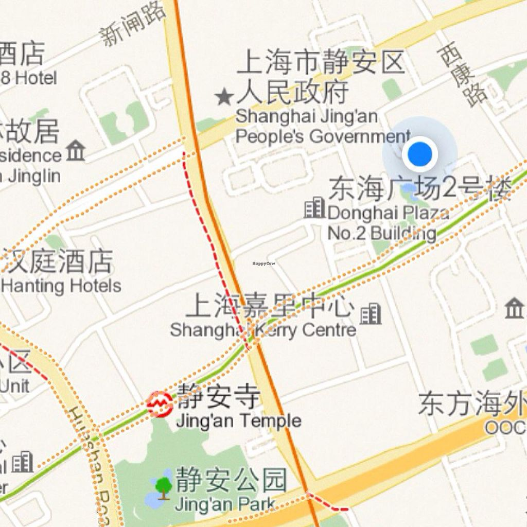 """Photo of Pure and Whole - Shanghai Centre  by <a href=""""/members/profile/Tianci"""">Tianci</a> <br/>correct map location <br/> February 13, 2014  - <a href='/contact/abuse/image/45276/64296'>Report</a>"""